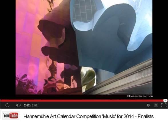 Donna Richardson - Finalist im Hahnemühle Kalenderwettbewerb 2014