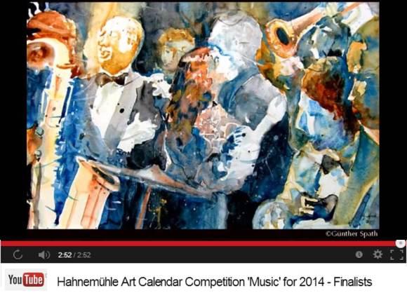 Günther Späth - Finalist im Hahnemühle Kalenderwettbewerb 2014