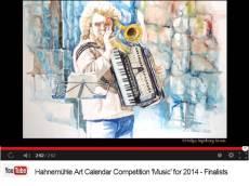 Helga Ingeborg Kraus - Finalist im Hahnemühle Kalenderwettbewerb 2014