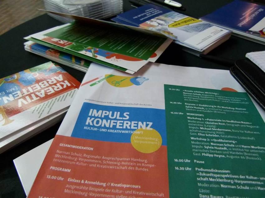 Impulskonferenz Kultur- und Kreativwirtschaft Mecklenburg Vorpommern (c) Frank Koebsch (2)