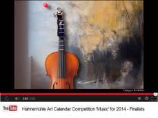 Jürgen Redelius - Finalist im Hahnemühle Kalenderwettbewerb 2014