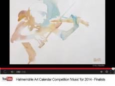 Mo Häusler - Finalist im Hahnemühle Kalenderwettbewerb 2014