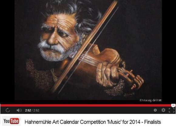 Moraig deWitt - Finalist im Hahnemühle Kalenderwettbewerb 2014