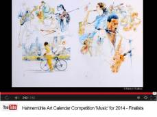 Patrice Baffou - Finalist im Hahnemühle Kalenderwettbewerb 2014