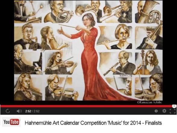 Ramazan Aykilic - Finalist im Hahnemühle Kalenderwettbewerb 2014
