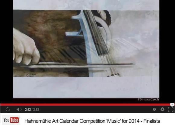 Silvana Czech - Finalist im Hahnemühle Kalenderwettbewerb 2014