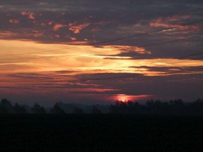 Sonnenuntergang im Herbst (c) Frank Koebsch