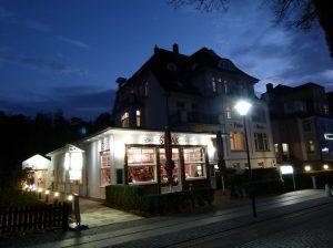 Abschluss des Tages mit einem leckeren Abendessen im Hotel Polar-Stern (c) Frank Koebsch (2)