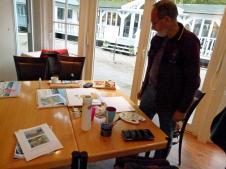 Schnappschüsse aus dem Aquarellkurs Faszination Ostsee (c) Frank Koebsch (2)