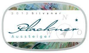 Weinetikett des 2012 Silvaner - Aussteiger - von Thomas Plackner