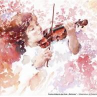 Der Hahnemühle Kunst-Kalender 2014 im Zeichen der Musik - Januar - Carlos Alberto de Gois