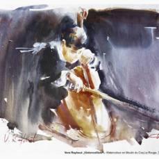 Der Hahnemühle Kunst-Kalender 2014 im Zeichen der Musik - November - Vera Raybaut