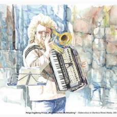 Der Hahnemühle Kunst-Kalender 2014 im Zeichen der Musik - Oktober - Helga Ingeborg Kraus