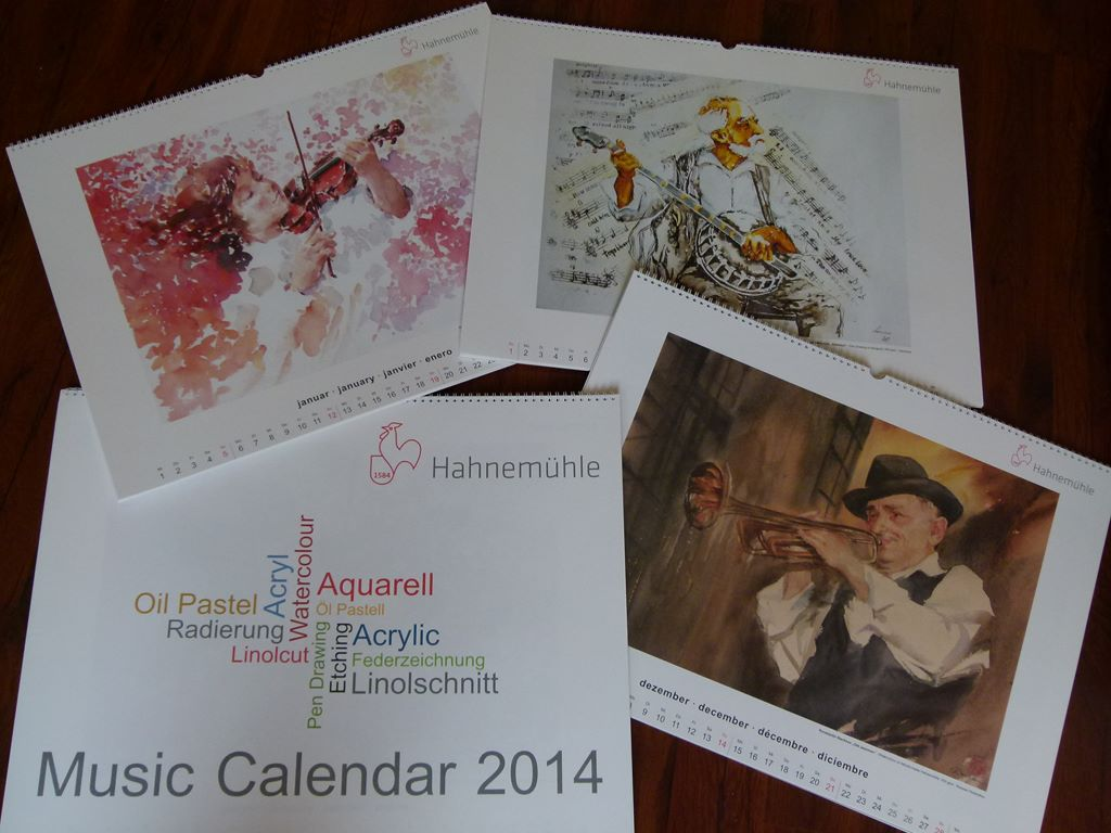 Hahnemühle Kalender 2014
