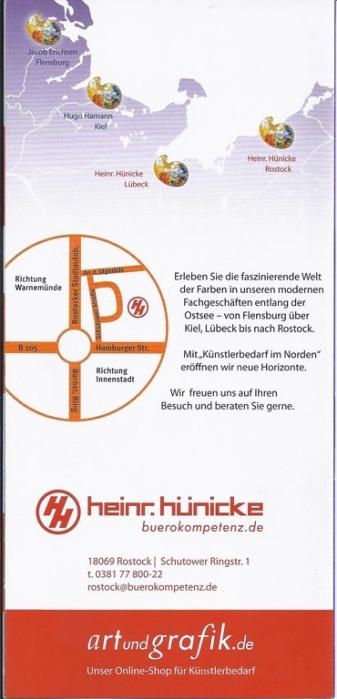 Hünicke Rostock malkurse und workshops bei heinr hünicke rostock 2 bilder