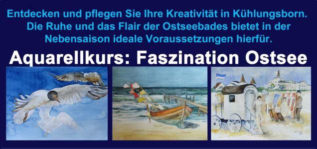 Malreisen 2014 mit dem Aquarellkurs Faszination Ostsee (1)