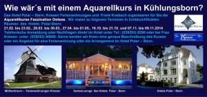 Malreisen 2014 mit dem Aquarellkurs Faszination Ostsee (2)