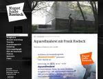 Rostock kreativ 2014 - wird begleitet durch einen Aquarellkurs mit Frank Koebsch