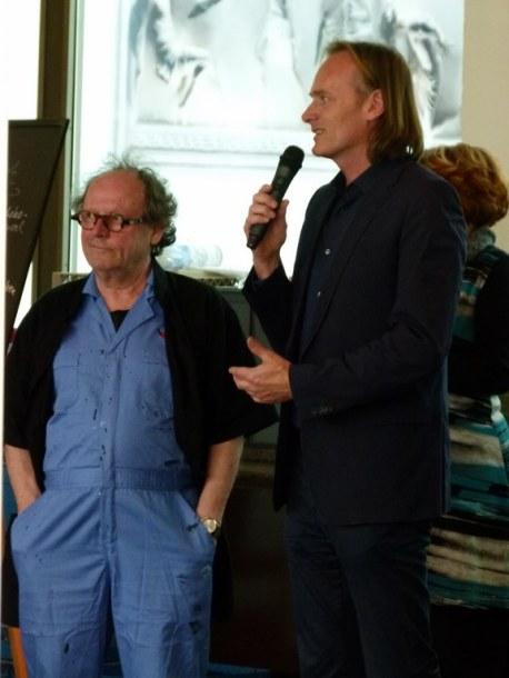 Feliks Büttner und Dr. Neumann bei Rostock kreativ (c) Frank Koebsch (1)