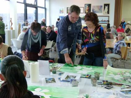 Aquarellkurs mit Frank Koebsch in der Kunsthalle Rostock im Rahmen Rostock kreativ (11)