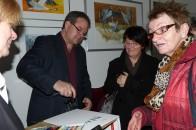 Frank Koebsch malt in der Ausstellung - Frühling im Land in Bad Sülze (c) Corinna Kastner (3)