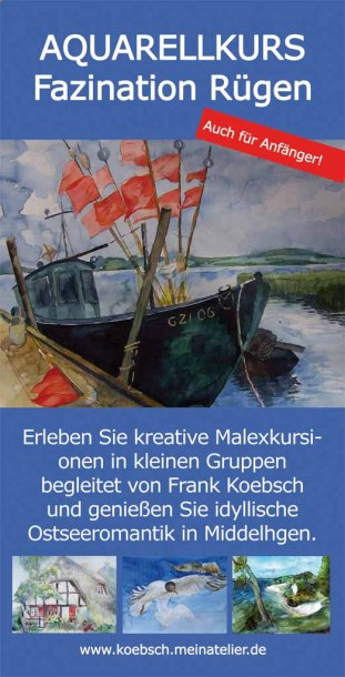 Malreise Faszination Rügen mit Frank Koebsch v
