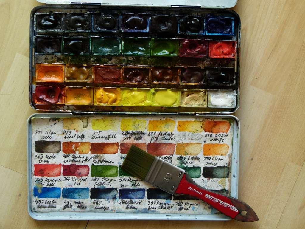Mein Farbkasten (c) Frank Koebsch