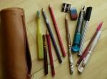 Stifte zum Skizzieren u.a. (c) Frank Koebsch