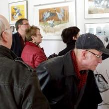 Vernissage der Ausstellung - Frühling im Land in Bad Sülze (c) Bert Preikschat (1)