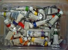 Wie viele Aquarellfarben braucht man ? (c) Frank Koebsch