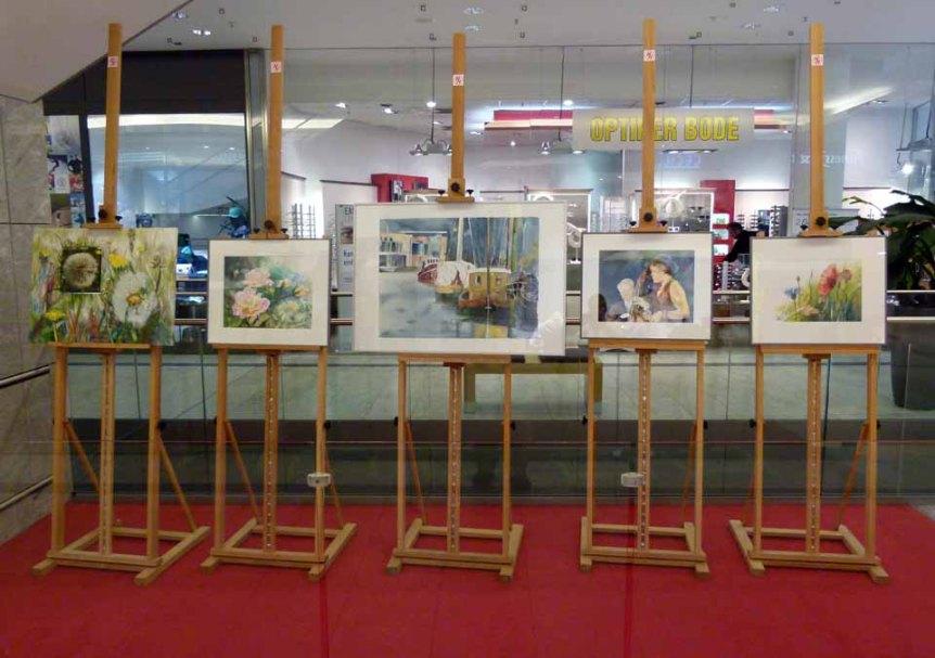 Aquarelle von Frank Koebsch im KTC Rostock (1)