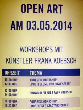 Aquarellworkshops im KTC Rostock (c) Frank Koebsch