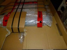 Beschädigungen im Inneren der Verpackung (c) Frank Koebsch