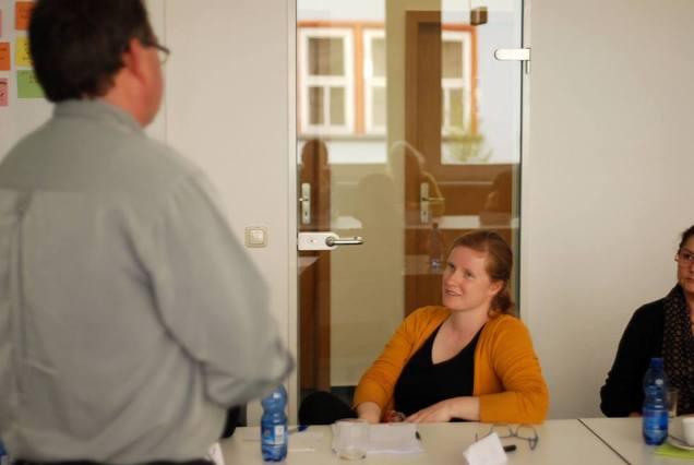 Erfahrungsaustausch im Workshop - Kunst und Kommunikation im Social WEB (c) Boris A. Knop (2)