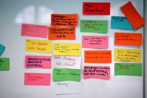 Erwartungen an den Workshop - Kunst und Kommunikation im Social WEB (c) Boris A. Knop