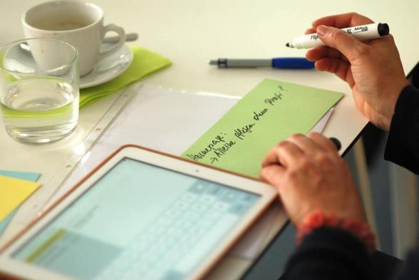 Fragen im Workshop - Kunst und Kommunikation im Social WEB (c) Boris A. Knop