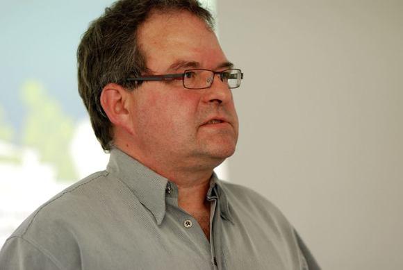 Frank Koebsch im Workshop - Kunst und Kommunikation im Social WEB (c) Boris A. Knop