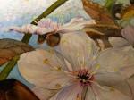 Frank Koebsch malt ein Aquarell mit Blüten der Zierkirsche (40)