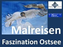 """Malreisen """"Faszination Ostsee"""" mit Frank Koebsch nach Kühlungsborn"""