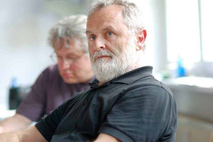 Prof. Klaus Nerlich im Workshop - Kunst und Kommunikation im Social WEB (c) Boris A. Knop