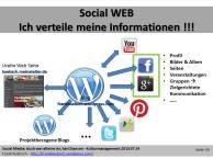 Social Web - Ich verteile meine Informationen (c) Frank Koebsch