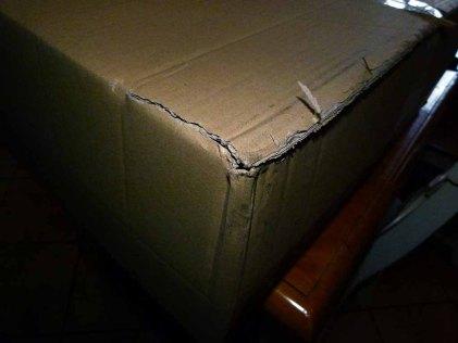 Verschicken von gerahmten Bildern -beschädigte Kartons (c) Frank Koebsch (1)