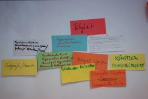 Vorstellung der Teilnehmer Workshop - Kunst und Kommunikation im Social WEB (c) Boris A. Knop