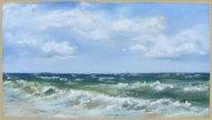 Windstärke 6 (c) Pastell von Hanka Koebsch