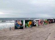 Butterflys im Sturm am Strand von Zingst als Teil des Fotofestivals horizonte (c) Frank Koebsch (2)