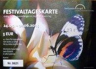 Festivaltageskarte - horizonte - Zingst 2014
