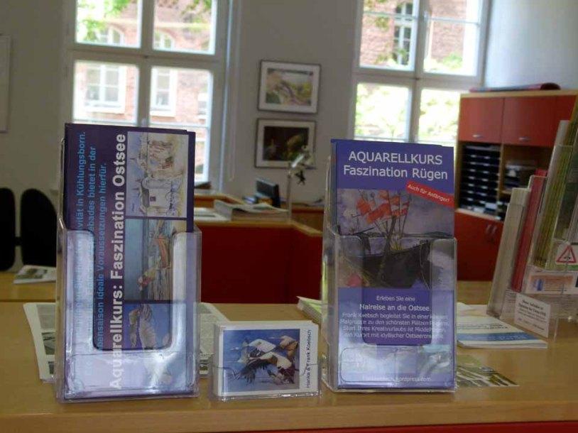 Aquarelle von Frank Koebsch im KIZ Schwerin (2)