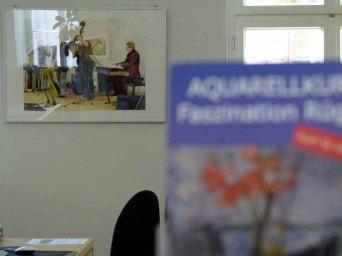 Aquarelle von Frank Koebsch im KIZ Schwerin (3)