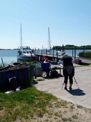 Aquarellkurs im Hafen von Groß Zicker (c) FRank Koebsch (4)