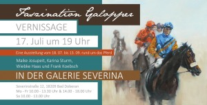Faszination Galopper - Flyer - Seite 1